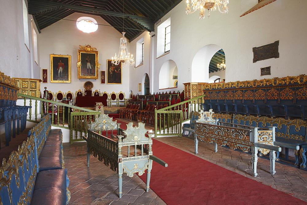 Salon de Independencia in Casa de la Libertad (House of Freedom), Sucre, UNESCO World Heritage Site, Bolivia, South America