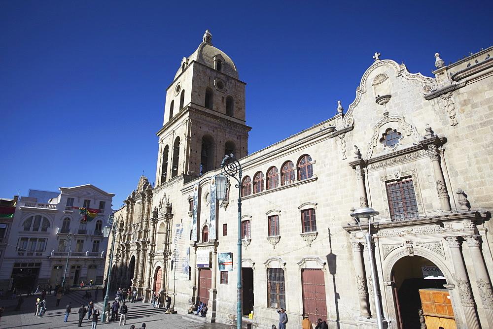 Iglesia de San Francisco in Plaza San Francisco, La Paz, Bolivia, South America