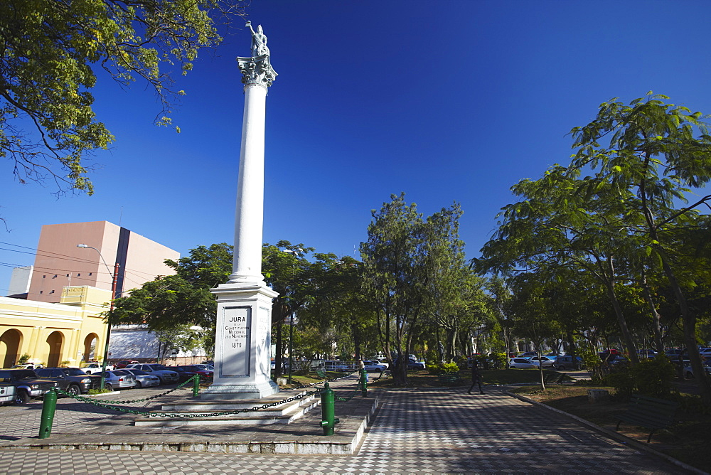 Plaza Constitution, Asuncion, Paraguay, South America