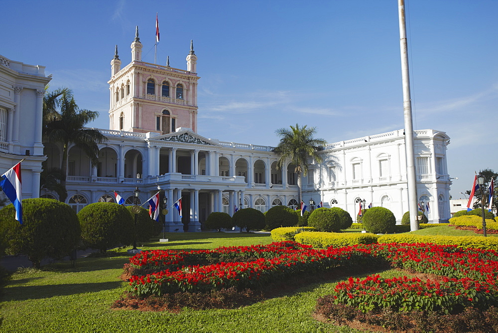 Palacio de Gobierno (Government Palace), Asuncion, Paraguay, South America