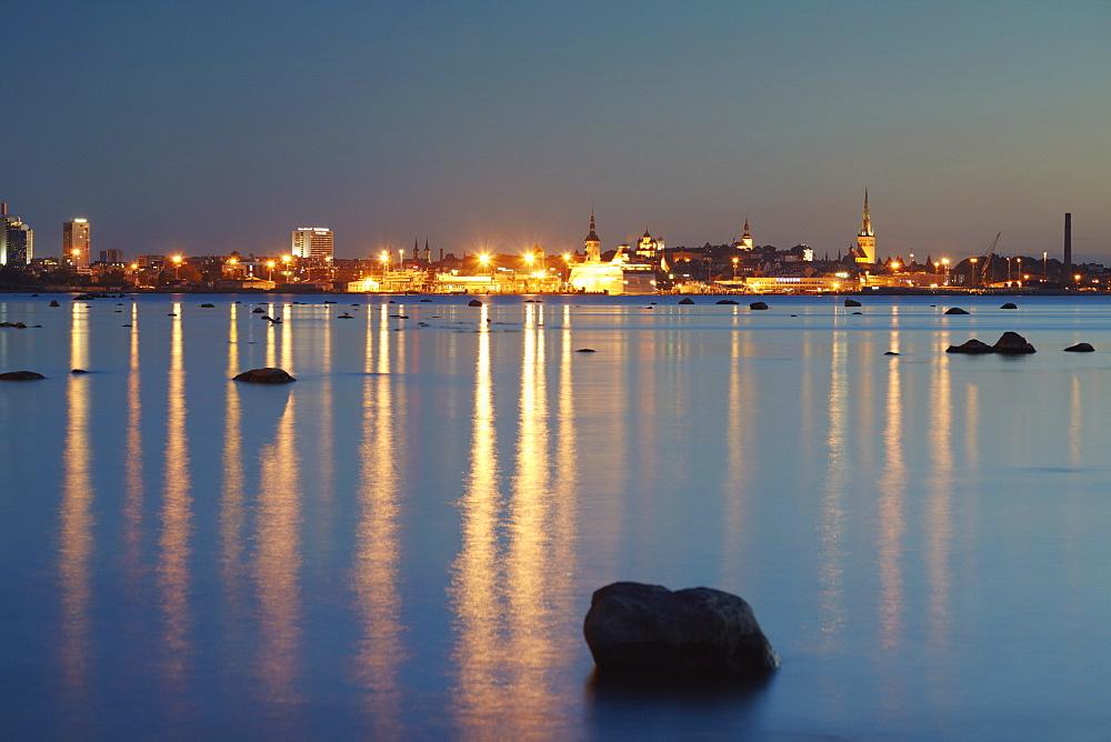 City skyline from Pirita, Tallinn, Estonia, Baltic States, Europe - 800-169