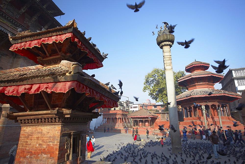 Durbar Square, UNESCO World Heritage Site, Kathmandu, Nepal, Asia