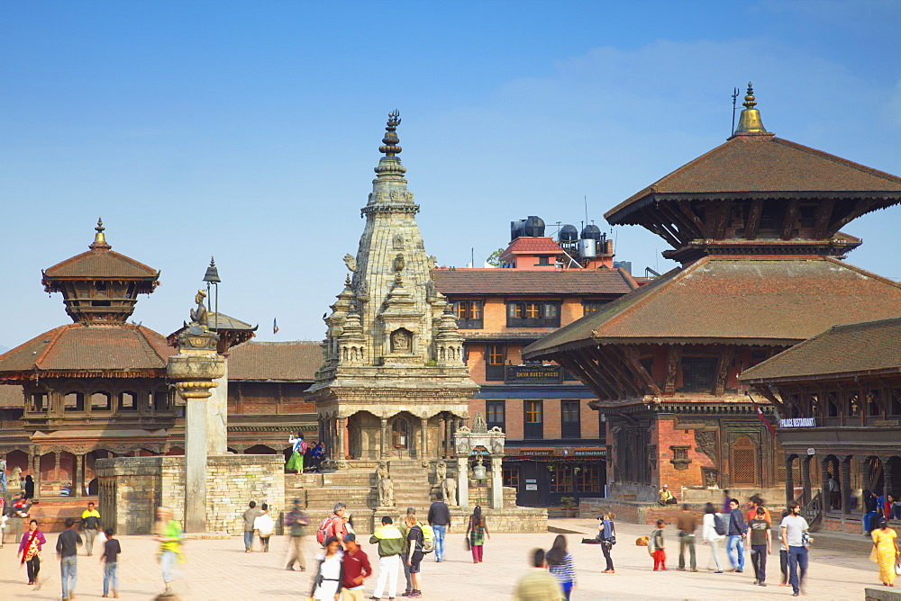 Durbar Square, Bhaktapur, UNESCO World Heritage Site, Kathmandu Valley, Nepal, Asia