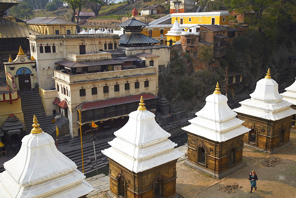 Pashupatinath Temple, UNESCO World Heritage Site, Kathmandu, Nepal, Asia