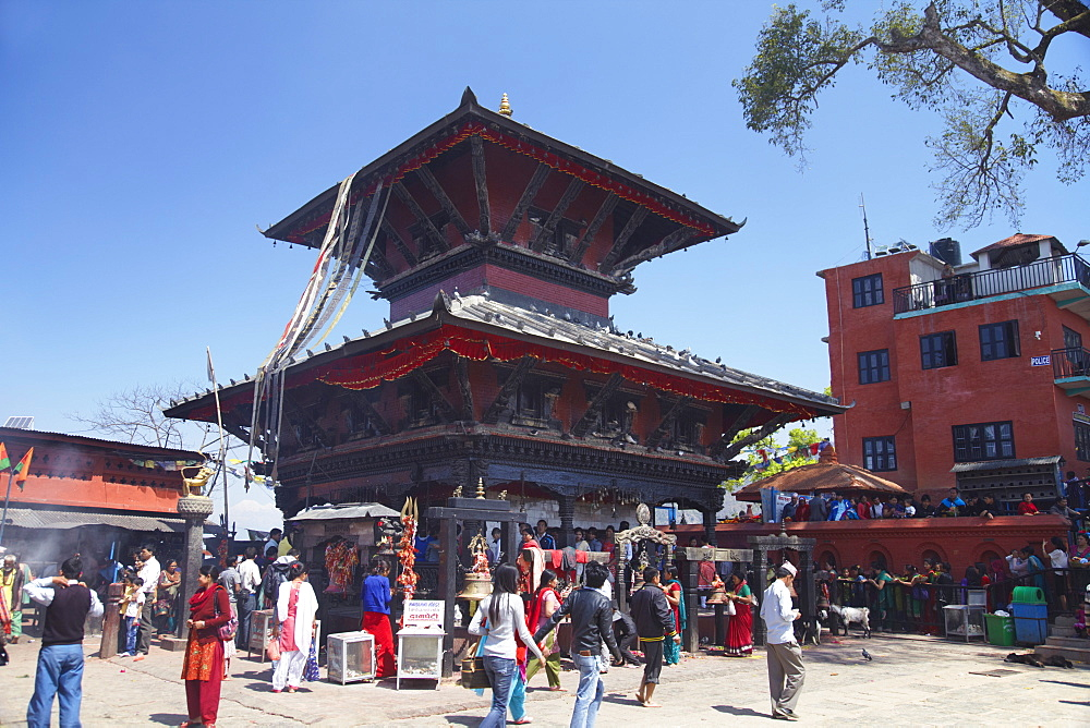 Manakamana Temple, Manakamana, Gorkha District, Gandaki, Nepal, Asia