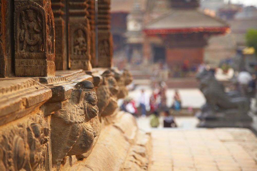 Durbar Square, Patan, UNESCO World Heritage Site, Kathmandu, Nepal, Asia