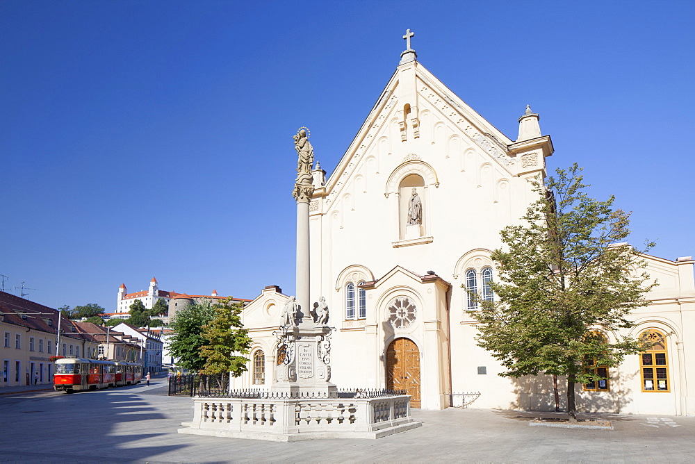 Capuchin Church, Bratislava, Slovakia, Europe