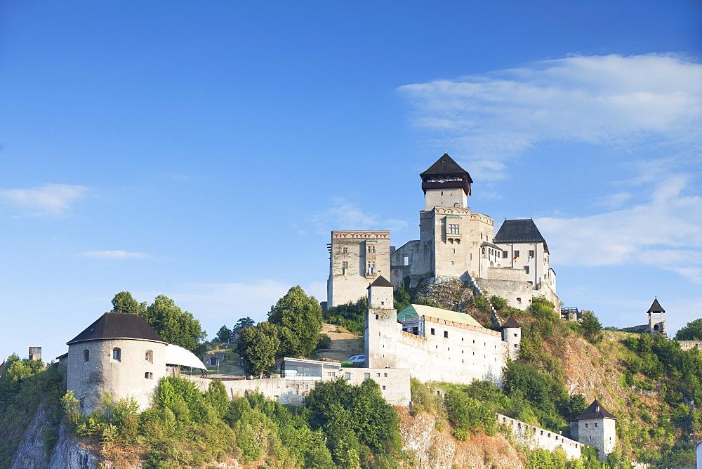 Trencin Castle, Trencin, Trencin Region, Slovakia, Europe