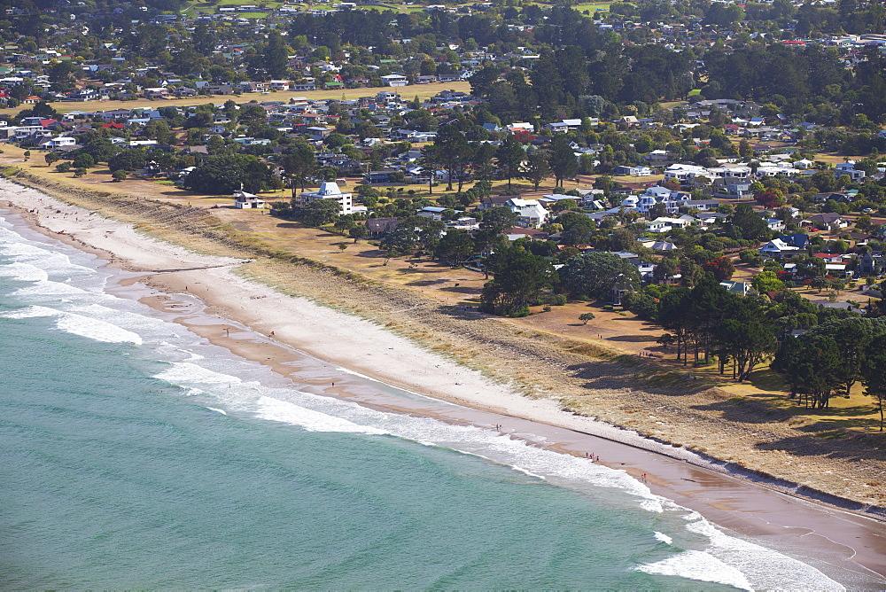 View of Pauanui beach, Tairua, Coromandel Peninsula, Waikato, North Island, New Zealand, Pacific