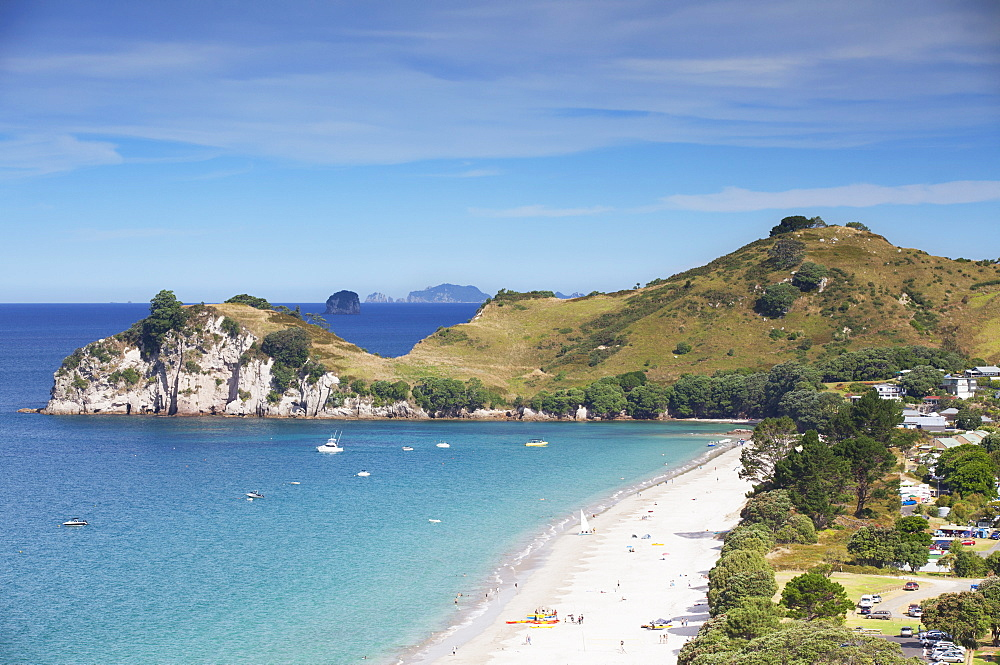 Hahei beach, Coromandel Peninsula, Waikato, North Island, New Zealand, Pacific