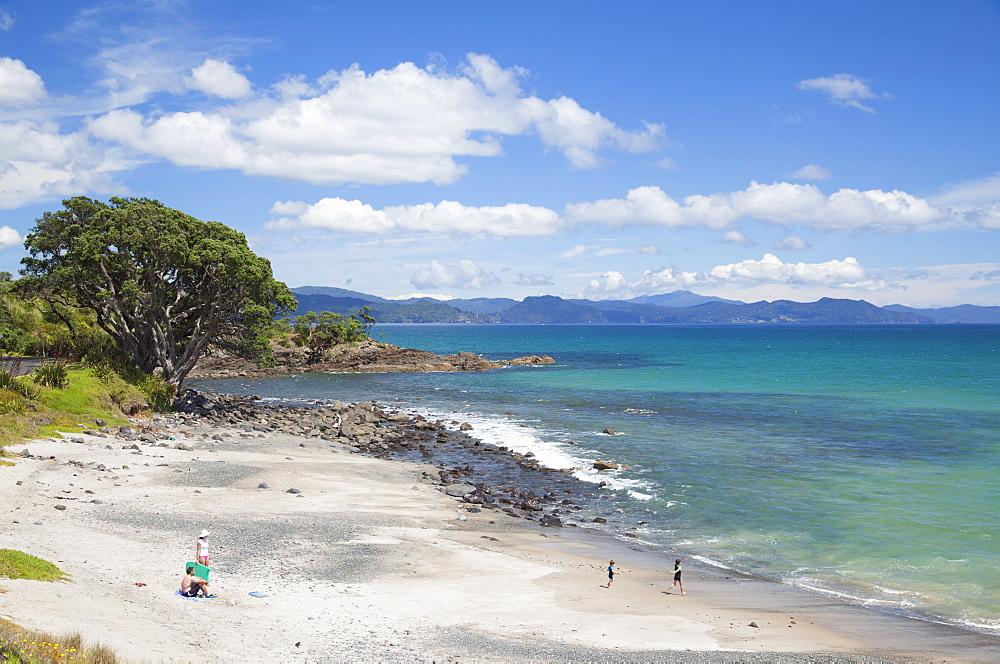 Kuaotunu beach, Coromandel Peninsula, Waikato, North Island, New Zealand, Pacific