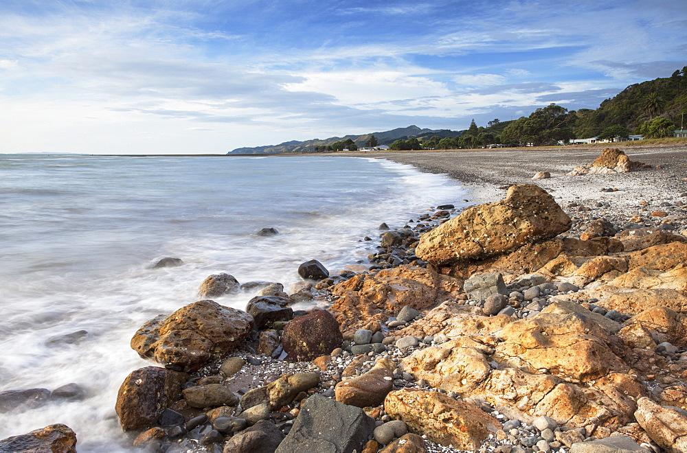 Tapu beach, Coromandel Peninsula, Waikato, North Island, New Zealand, Pacific