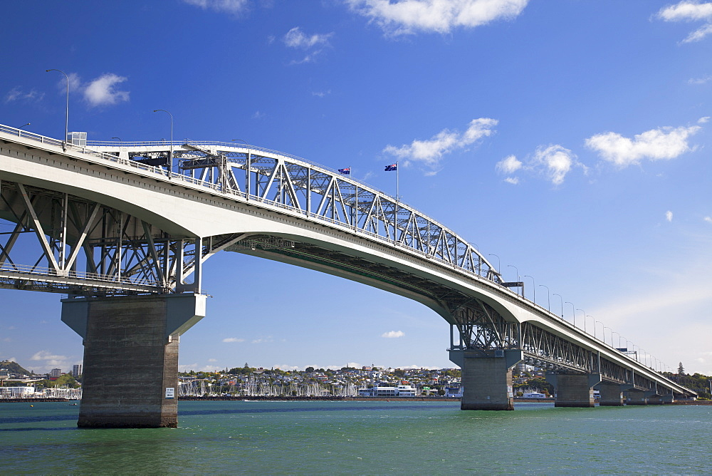 Auckland Harbour Bridge, Auckland, North Island, New Zealand, Pacific