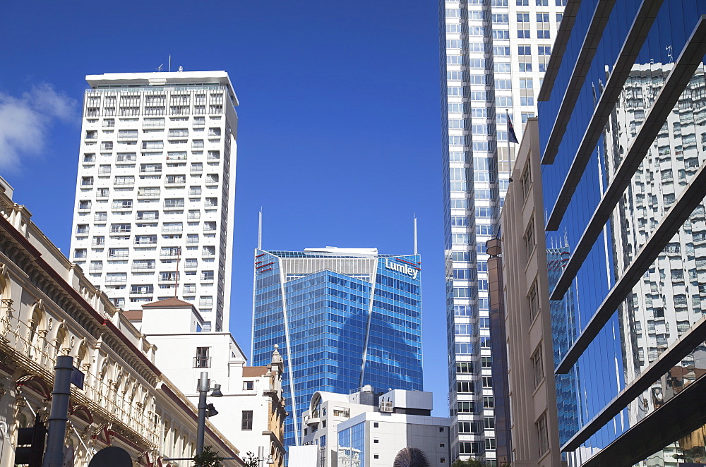 Skyscrapers in downtown Auckland, North Island, New Zealand, Pacific - 800-2053
