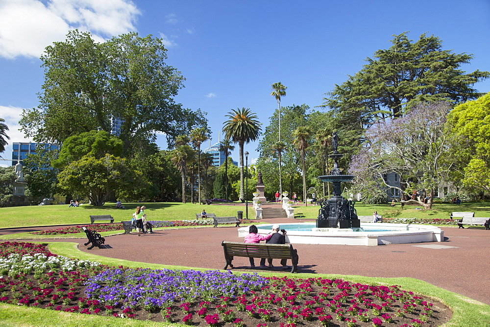 Albert Park, Auckland, North Island, New Zealand, Pacific