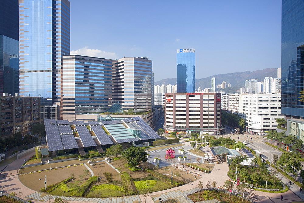 Zero Carbon Building, Kowloon Bay, Kowloon, Hong Kong, China, Asia