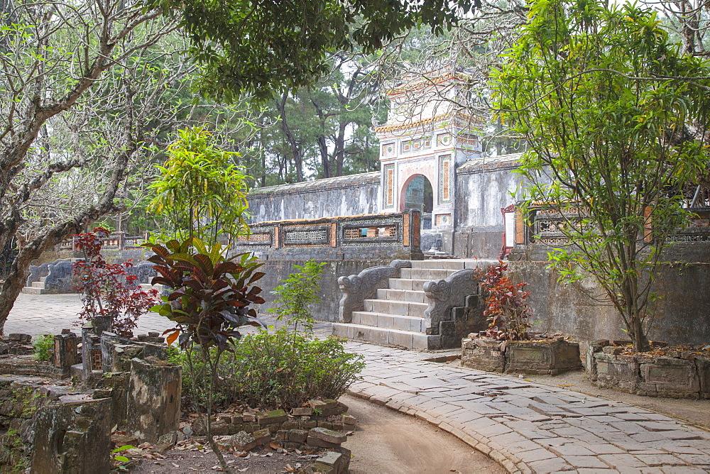Tomb of Tu Duc, UNESCO World Heritage Site, Hue, Thua Thien-Hue, Vietnam, Indochina, Southeast Asia, Asia