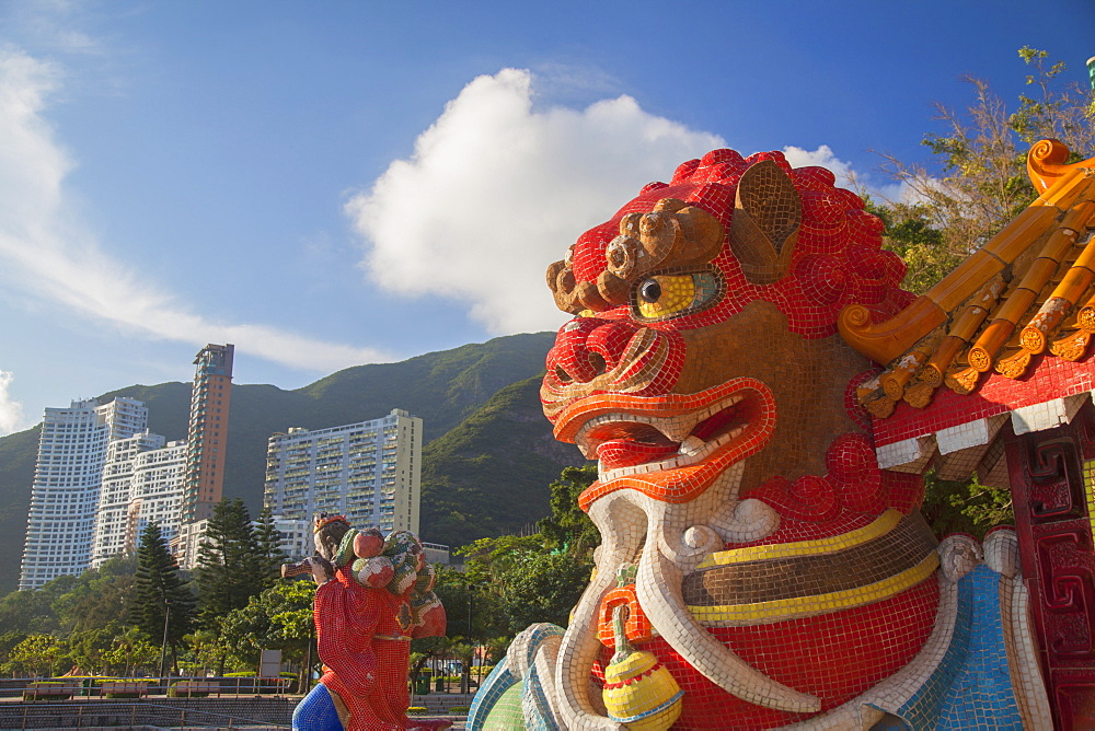 Tin Hau temple at Repulse Bay, Hong Kong Island, Hong Kong, China, Asia