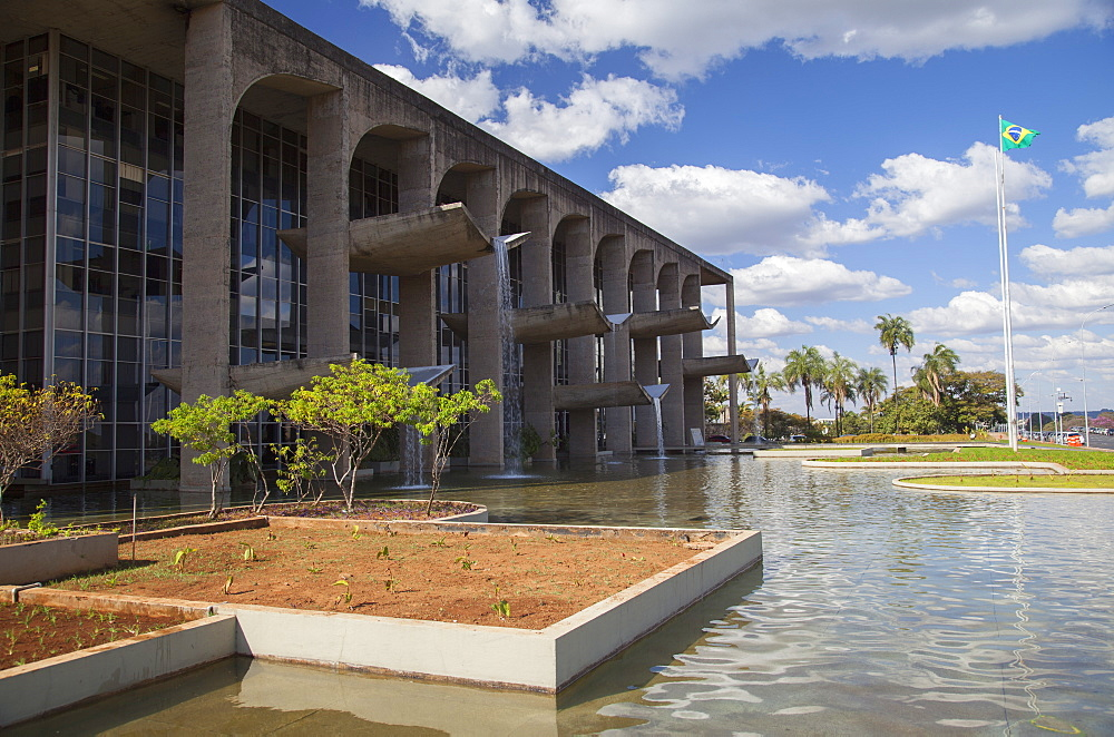 Palace of Justice, UNESCO World Heritage Site, Brasilia, Federal District, Brazil, South America