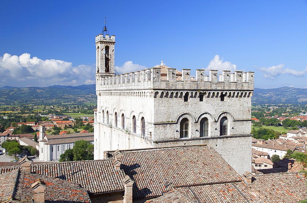 Palace of the Consuls, Gubbio, Umbria, Italy, Europe