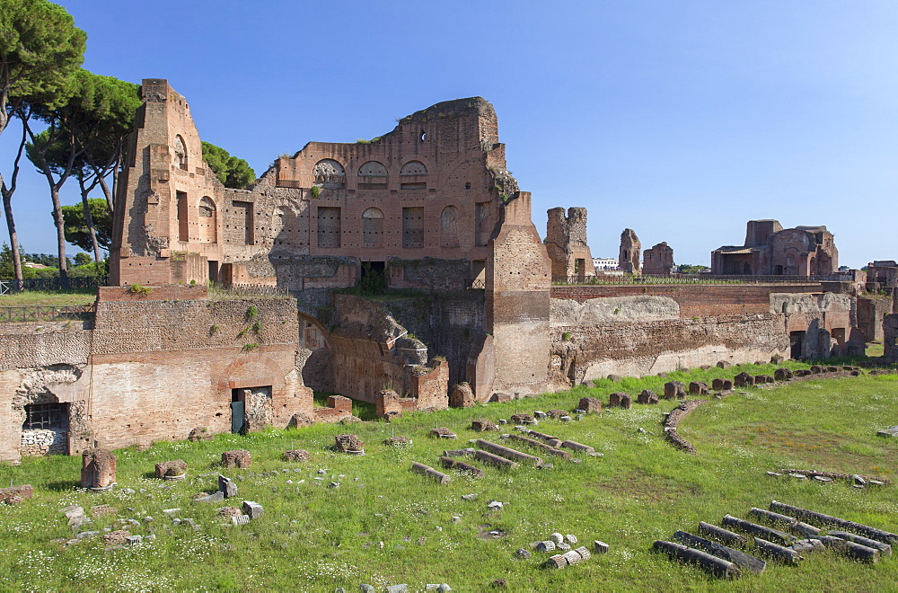 Stadium of Domitian on Palatine Hill, UNESCO World Heritage Site, Rome, Lazio, Italy, Europe