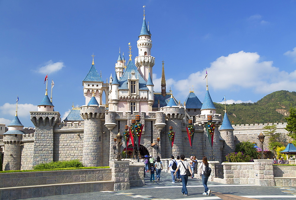 Disneyland, Lantau Island, Hong Kong, China, Asia