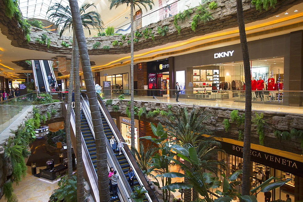 Cotai Central shopping mall, Cotai Strip, Taipa, Macau, China, Asia