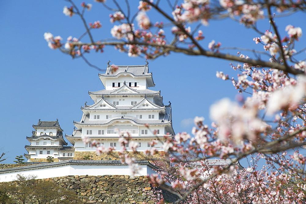 Himeji Castle, UNESCO World Heritage Site, Himeji, Kansai, Honshu, Japan, Asia