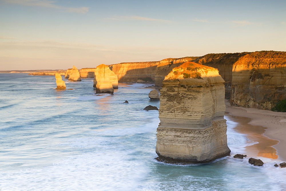 Twelve Apostles at dawn, Port Campbell National Park, Great Ocean Road, Victoria, Australia, Pacific