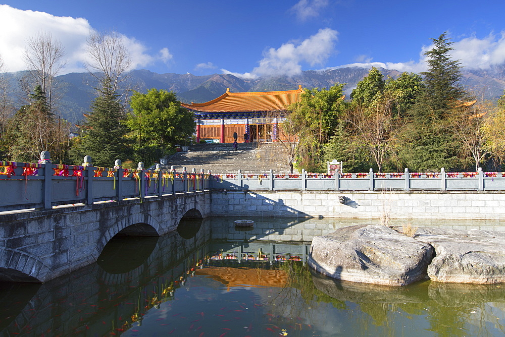 Chongsheng Temple, Dali, Yunnan, China, Asia - 800-2964