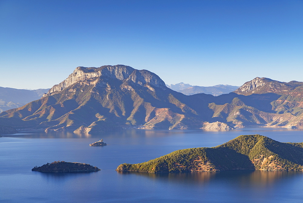 View of Lugu Lake, Yunnan, China, Asia - 800-2970