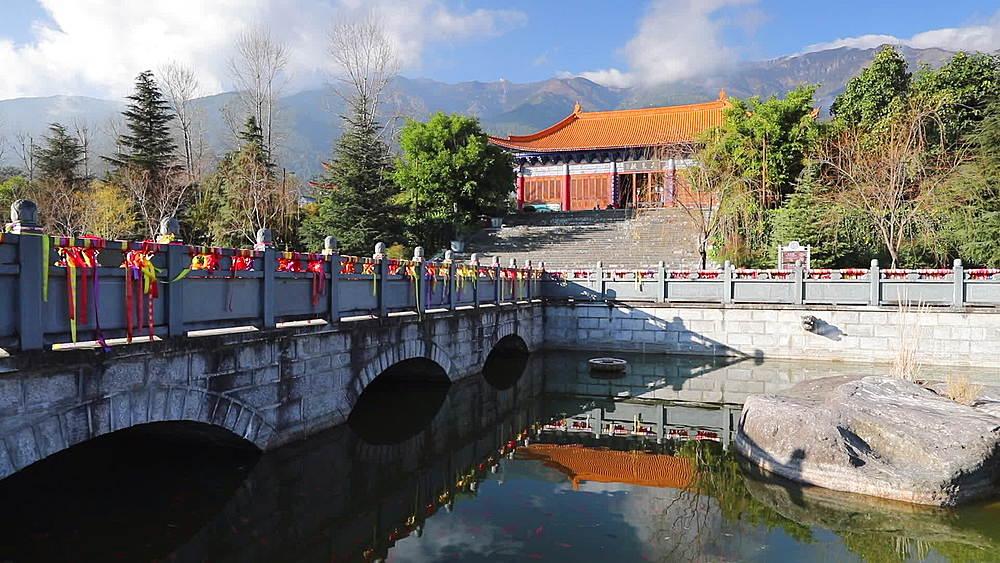 Chongsheng Temple, Dali, Yunnan, China, Asia