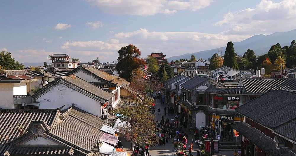 View of Dali, Yunnan, China, Asia