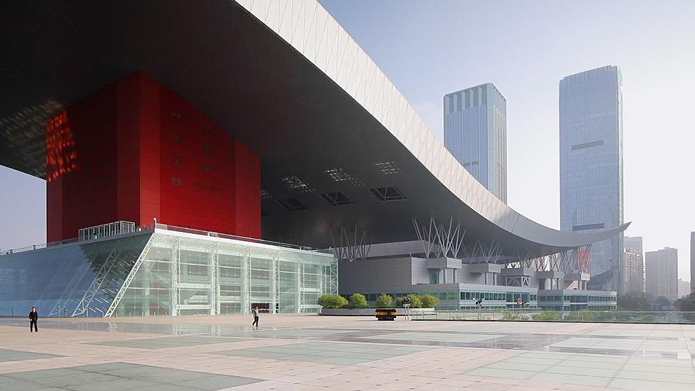 Civic Centre, Futian, Shenzhen, Guangdong, China, Asia