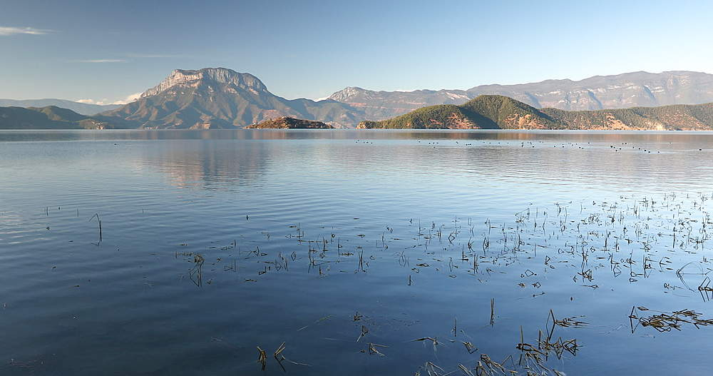 Lugu Lake, Yunnan, China, Asia - 800-3118