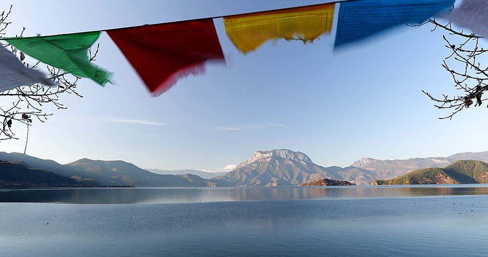 Lugu Lake, Yunnan, China, Asia