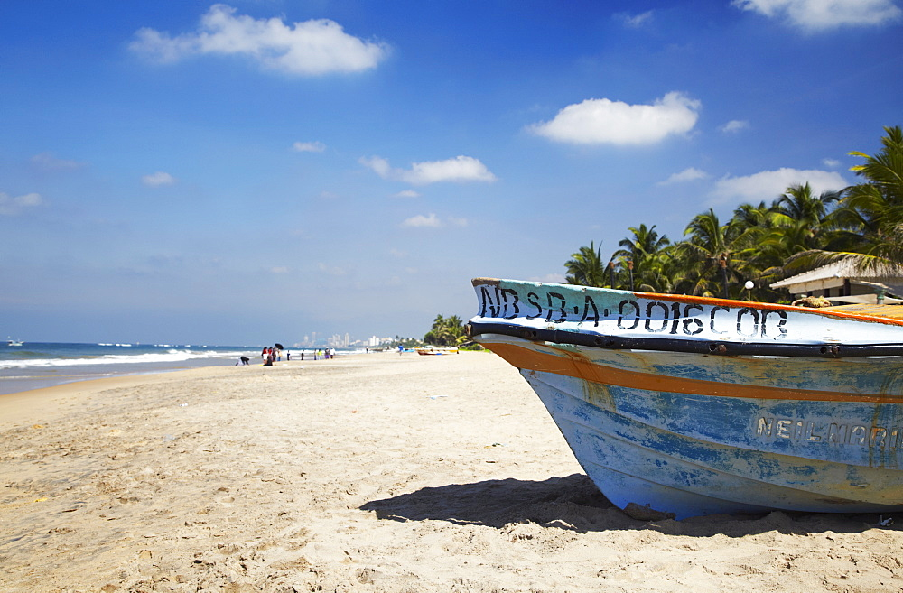 Mount Lavinia Beach, Mount Lavinia, Colombo, Sri Lanka, Asia