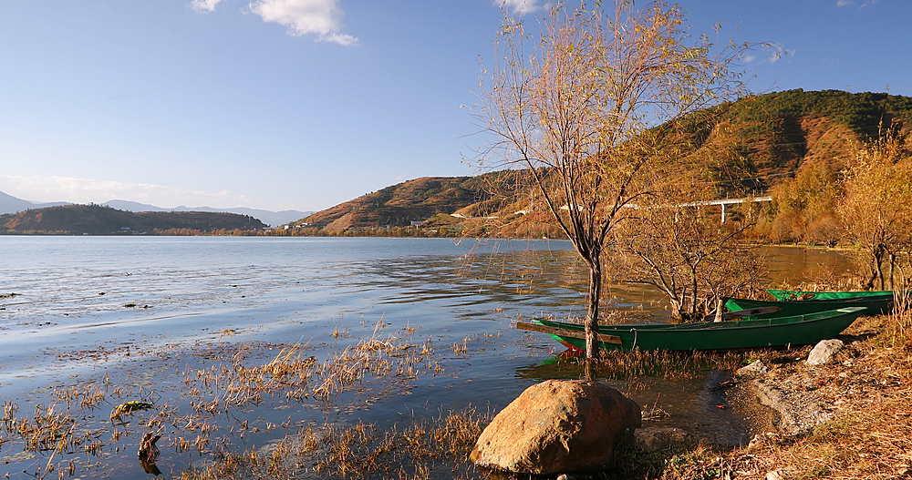 Erhai Lake, Shuanglang, Yunnan, China, Asia