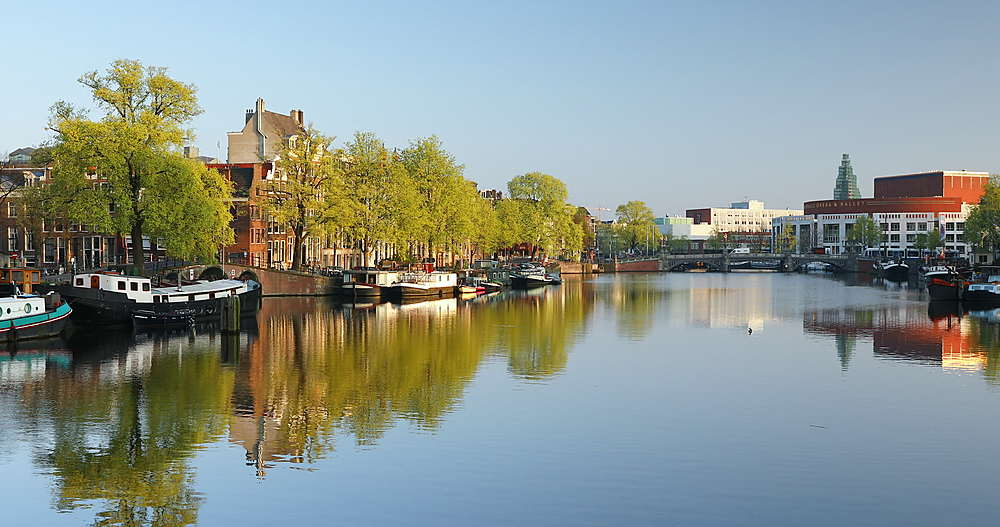 Amstel River, Amsterdam, Netherlands - 800-3137