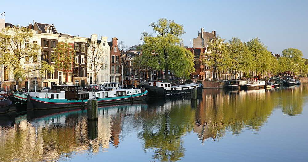Amstel River, Amsterdam, Netherlands - 800-3138