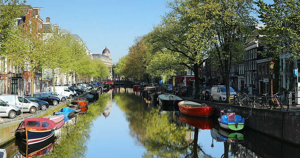 Lijnbaansgracht canal, Amsterdam, Netherlands - 800-3171