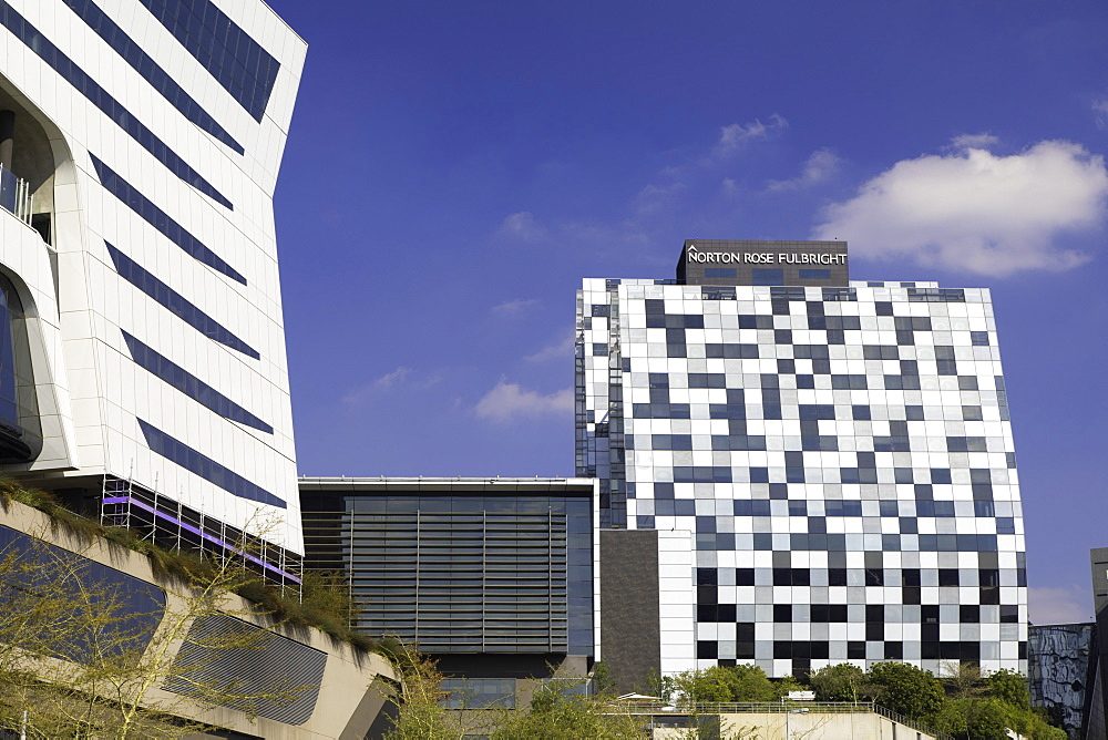 Norton Rose Fulbright building (Alice Lane Towers), Sandton, Johannesburg, Gauteng, South Africa, Africa