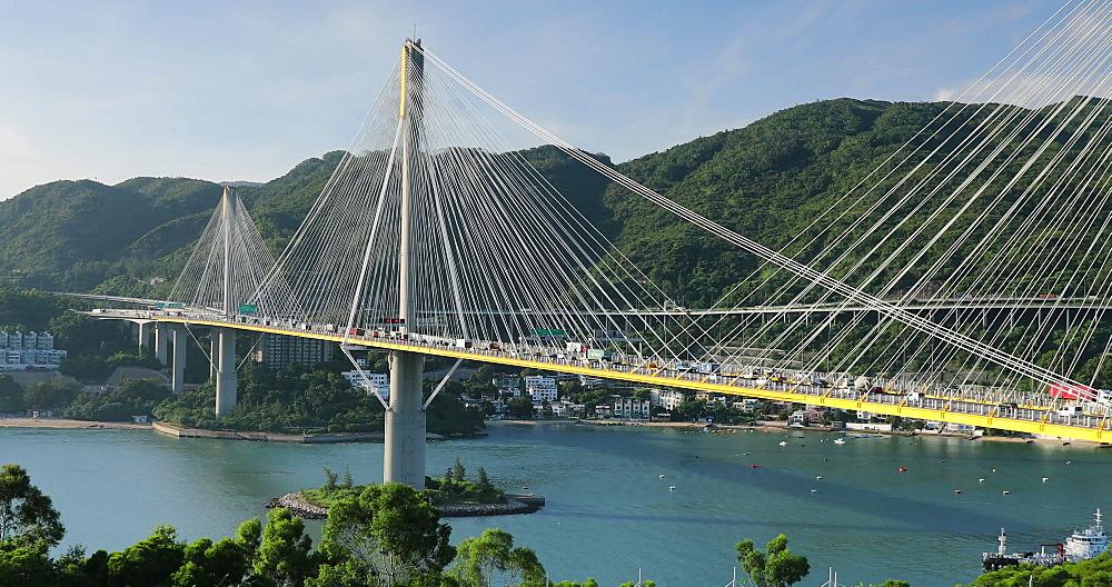 Ting Kau Bridge, Tsing Yi, Hong Kong, China, Asia - 800-3247
