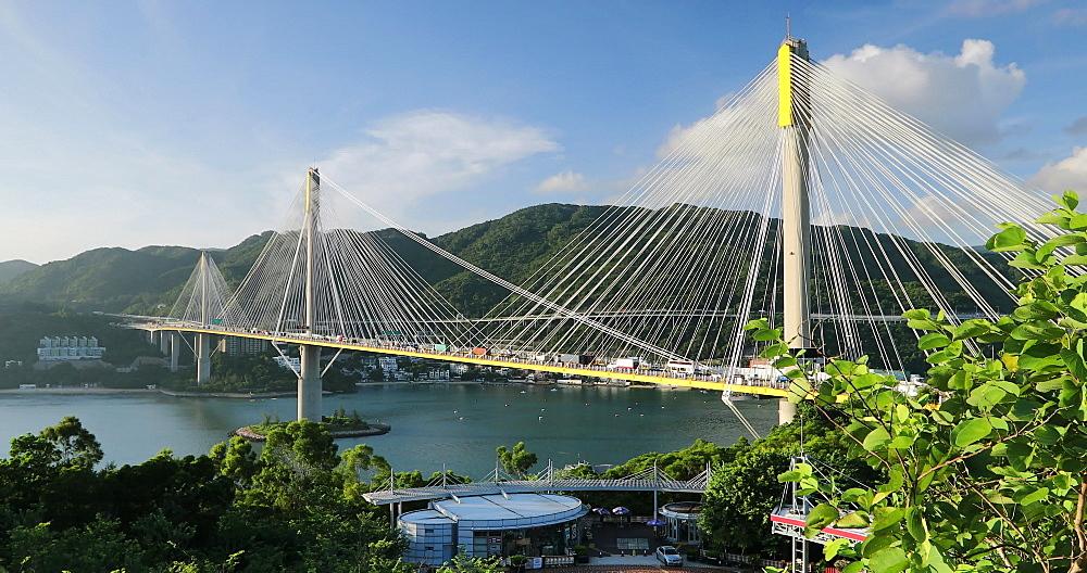 Ting Kau Bridge, Tsing Yi, Hong Kong, China, Asia