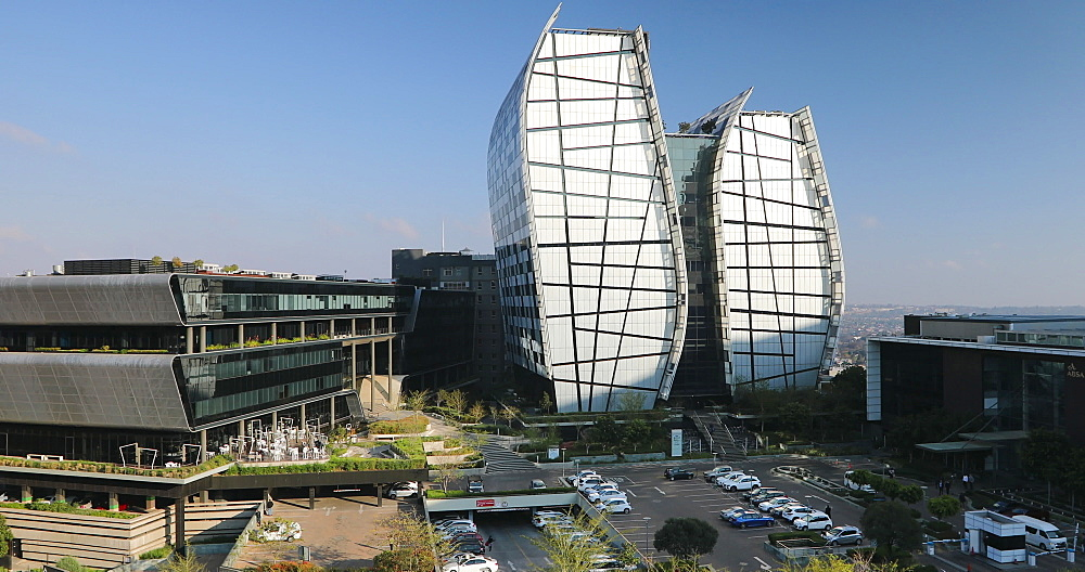 Norton Rose Fulbright building (Alice Lane Towers), Sandton, Johannesburg, Gauteng, South Africa - 800-3256