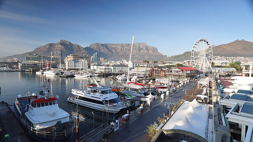 Victoria and Albert (V) Waterfront, Cape Town, Western Cape, South Africa - 800-3268