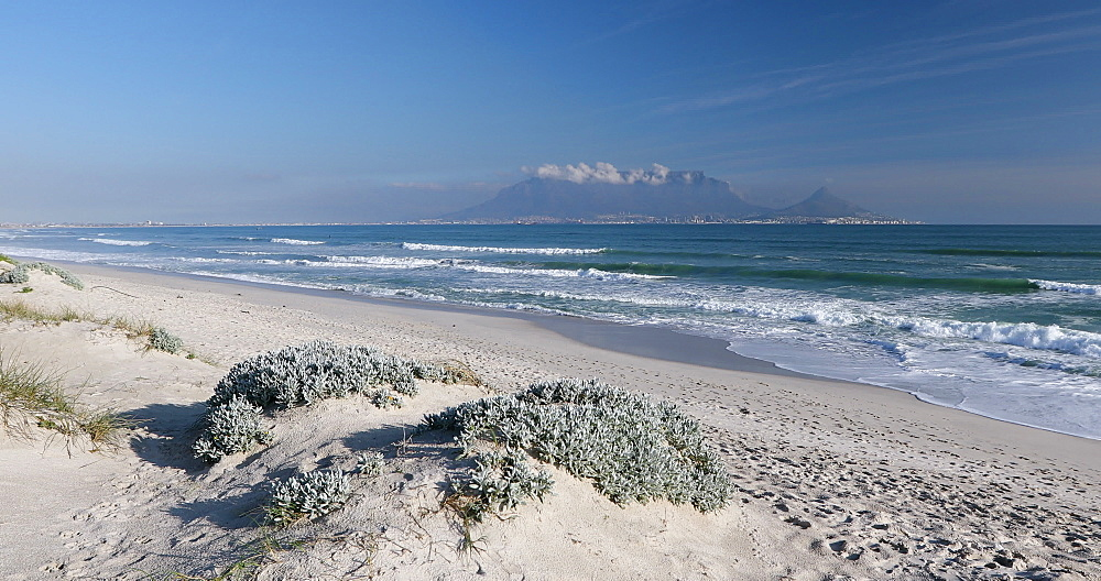 Table Mountain from Bloubergstrand, Cape Town, Western Cape, South Africa - 800-3280