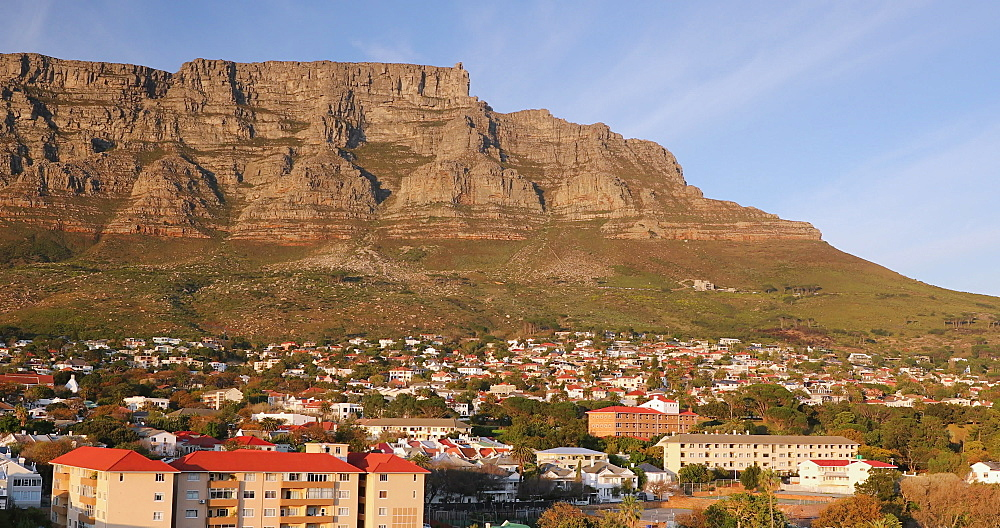 Table Mountain and City Bowl, Cape Town, Western Cape, South Africa, Africa - 800-3295