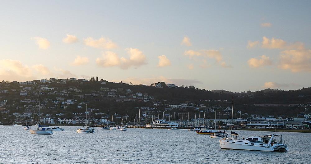 Boats on Knysna River, Knysna, Western Cape, South Africa - 800-3325
