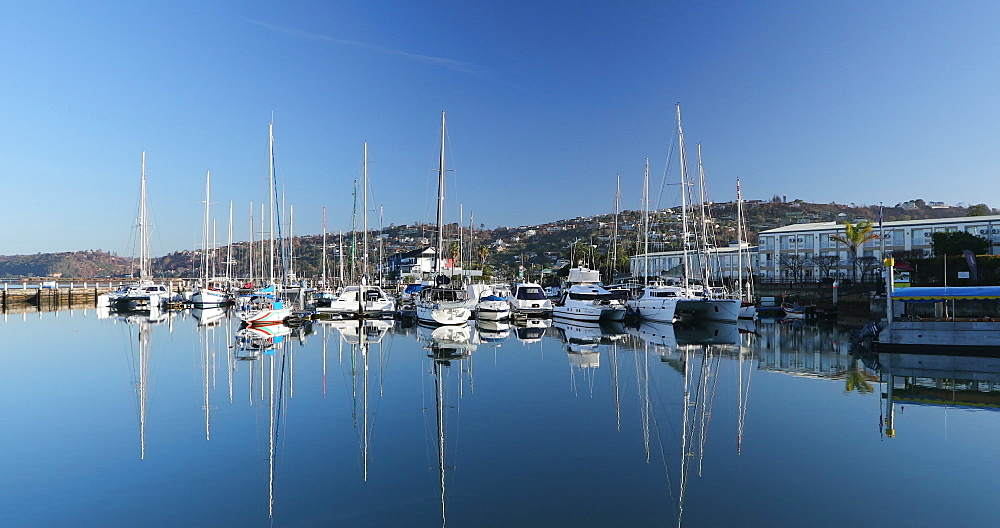 Boats in the Waterfront, Knysna, Western Cape, South Africa - 800-3329